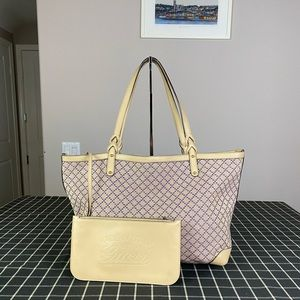 Gucci Large Fabric Totes with pouch / clutch